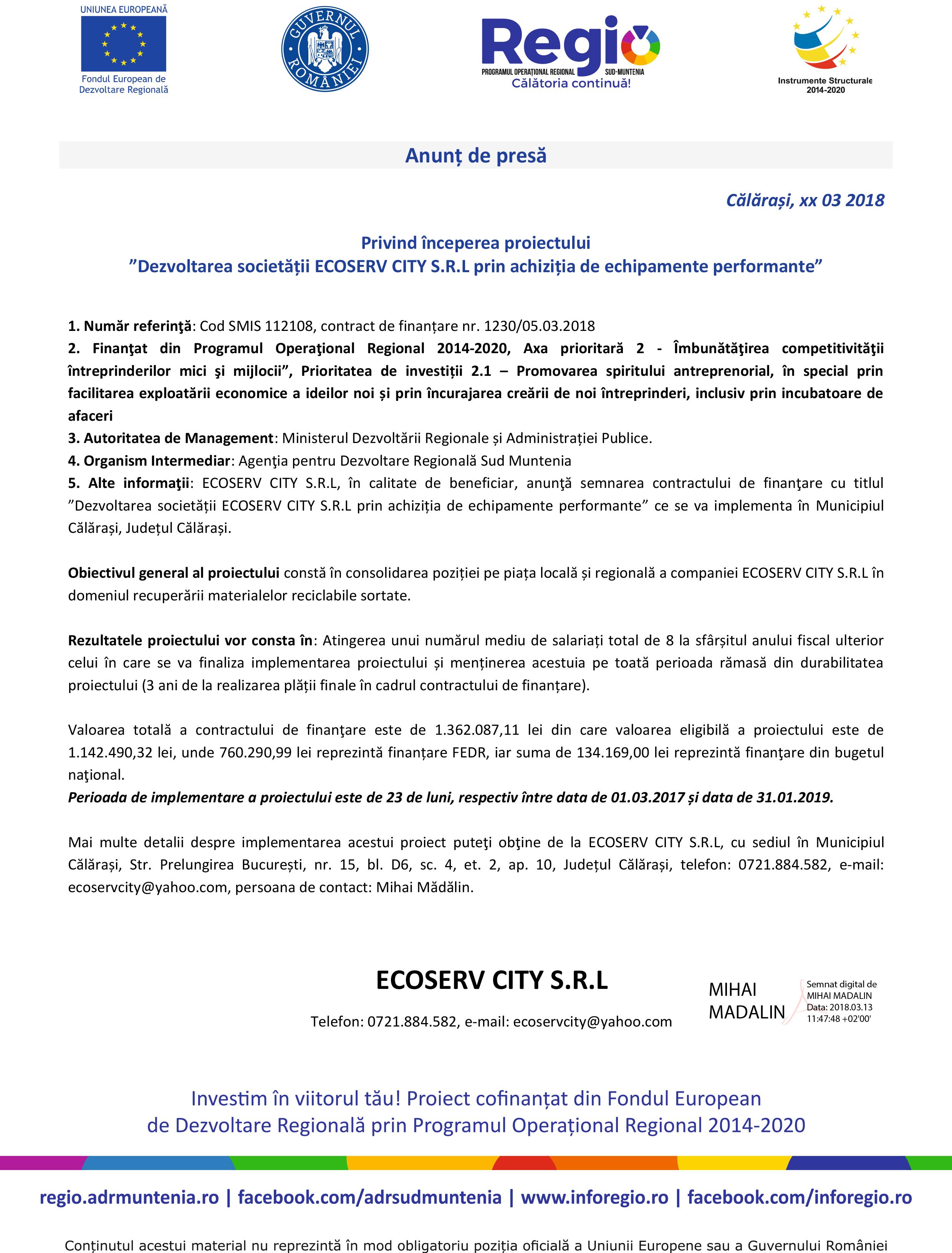 Model document