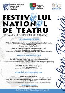 Festivalul de Teatru- AFIS