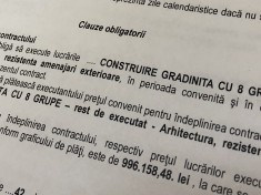 contract gradinita cu 8 grupe
