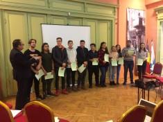 Prezentarea elevilor traineri LMT